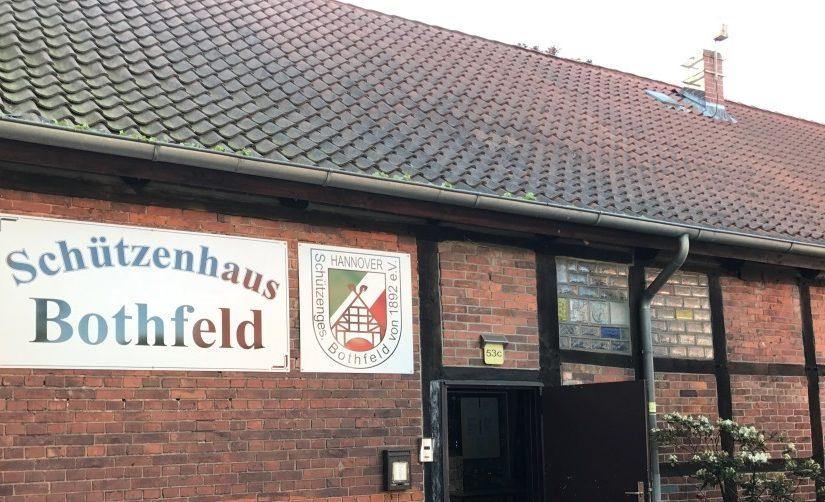 Das Schützenhaus des SG Bothfeld - unser Vereinsheim