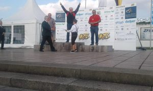 Bodo Drews hat die Goldmedaille in der Einzelwertung KK-Liegend gewonnen
