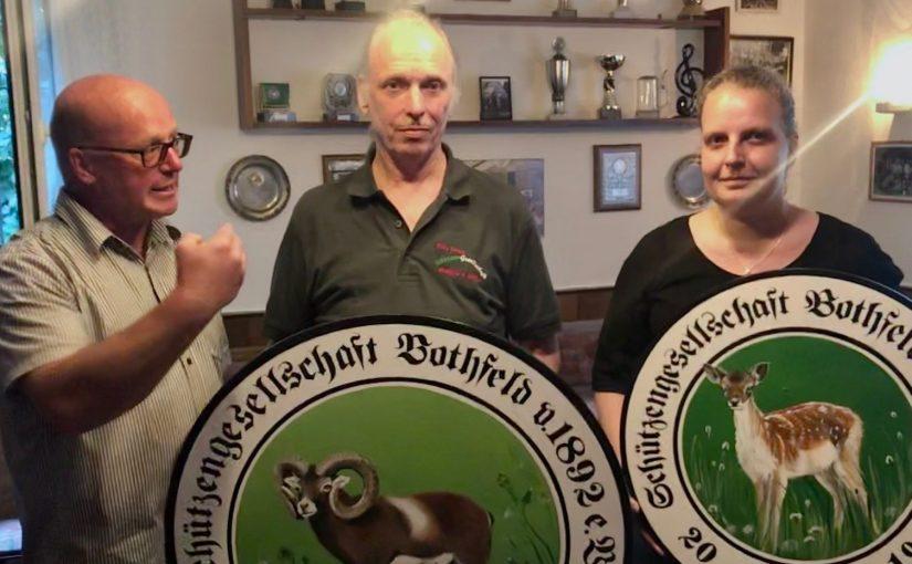 Unsere Schützenkönigin und unser Schützenkönig 2019