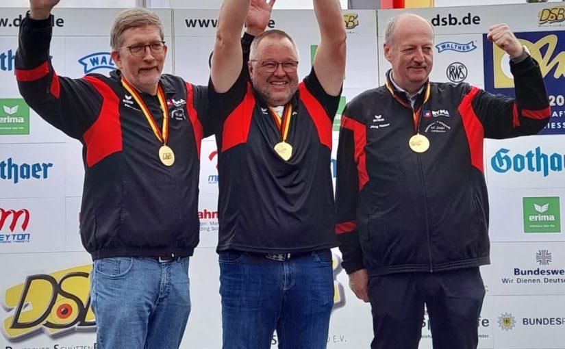 Gold für die SG Bothfeld bei den Deutschen Meisterschaften 2021 in München